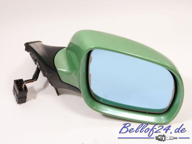 Außenspiegel rechts, elektrisch Facelift, mit Lackschäden, grünAUDI A4 AVANT (8D5, B5) 1.6