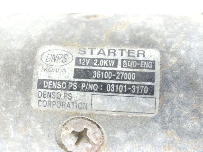 Anlasser/Starter 3610027000HYUNDAI TRAJET (FO) 2.0