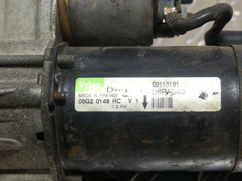 Anlasser/Starter 09115191OPEL MERIVA 1.4 16V TWINPORT