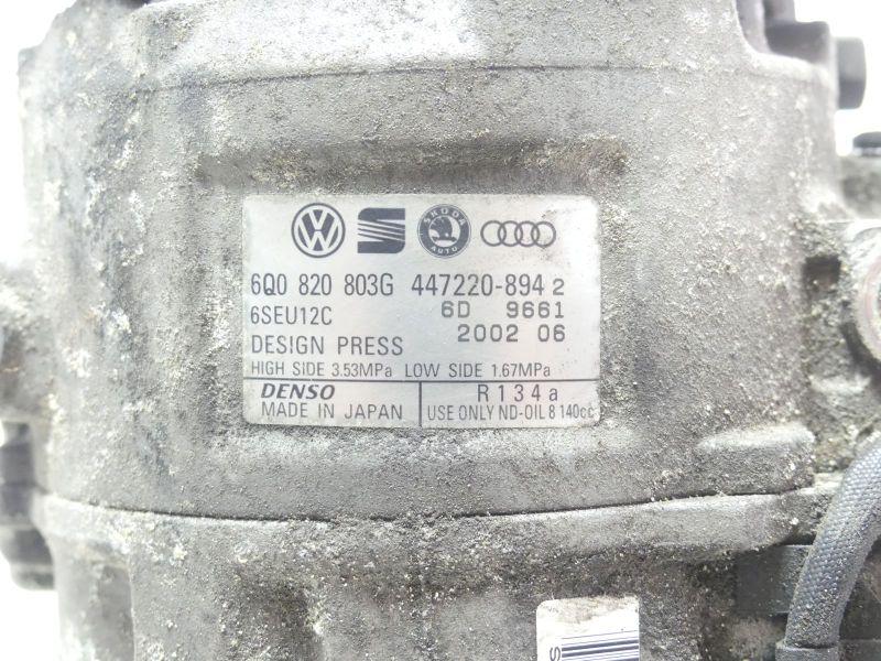 Klimakompressor 6Q0820803G DensoVW POLO (9N_) 1.2 12V