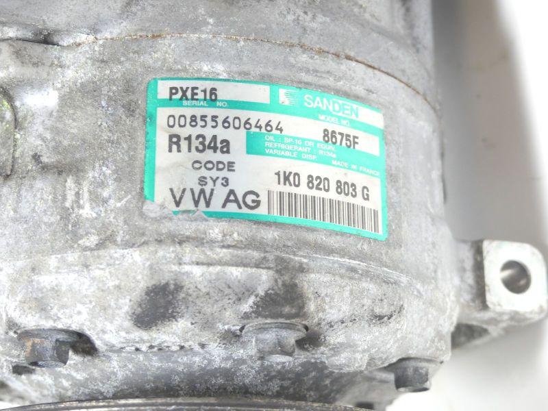 Klimakompressor 1K0820803G BKDVW TOURAN (1T1, 1T2) 2.0 TDI 16V