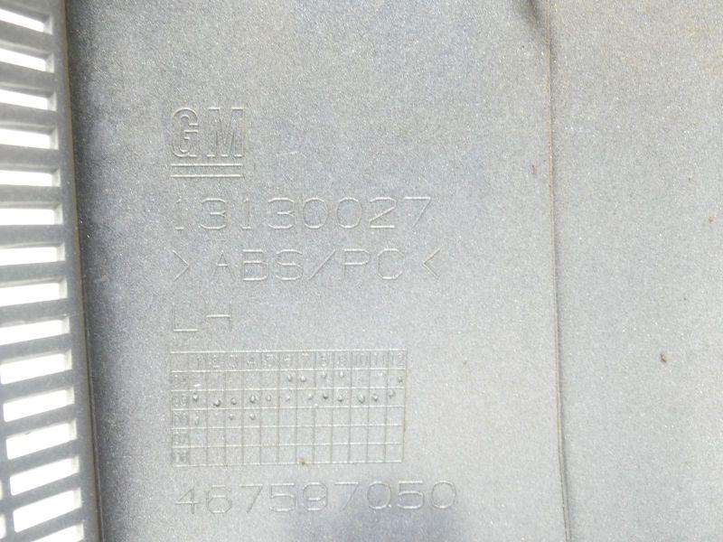 Nebel-Schlu?leuchte Verkleidung links 13130027OPEL MERIVA 1.6