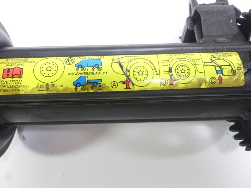 Wagenheber BordwerkzeugVW LT 28-46 II KASTEN (2DX0AE) 2.5 TDI